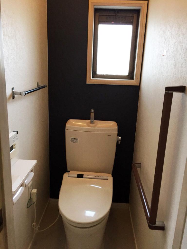 【施工実績:4】トイレのリフォーム工事:東京都羽村市
