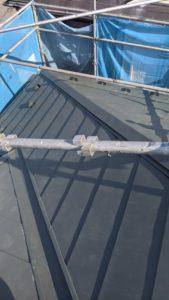 【施工実績:18】屋根カバー工法ガルバ葺き替え工事:東京都羽村市